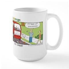 The Sendoff Large Mug