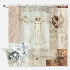 Vitruvian Shower Curtain
