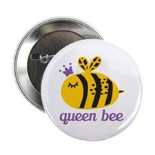 "Queen Bee 2.25"" Button (100 pack)"