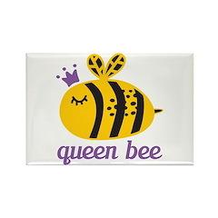 Queen Bee Rectangle Magnet (10 pack)