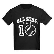Ten Year Old Baseball T