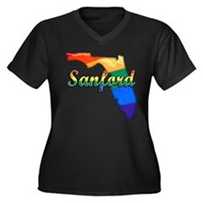 Sanford, Florida, Gay Pride, Women's Plus Size V-N