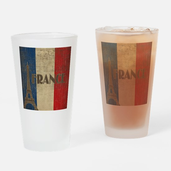 Vintage France Drinking Glass