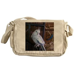 Cockatiel 4 Messenger Bag