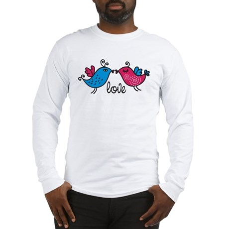 Love Birds Long Sleeve T-Shirt