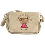 Children's Librarian Gift Messenger Bag