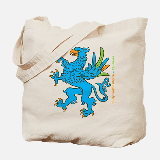 Funny Griffin Tote Bag