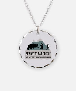 Fat People Necklace