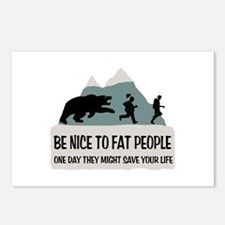 Fat People Postcards (Package of 8)