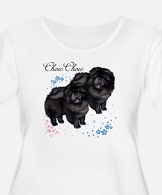 chowsflt copy Plus Size T-Shirt