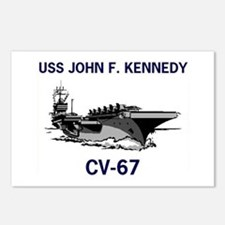 USS KENNEDY Postcards (Package of 8)