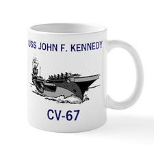 USS KENNEDY Mug