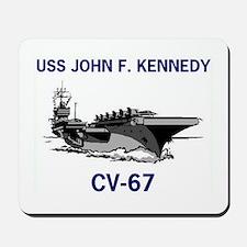 USS KENNEDY Mousepad