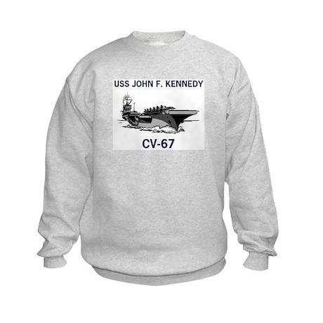 USS KENNEDY Kids Sweatshirt