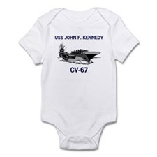 USS KENNEDY Infant Creeper