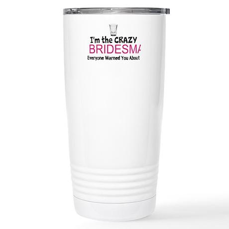 Bridesmaids Stainless Steel Travel Mug