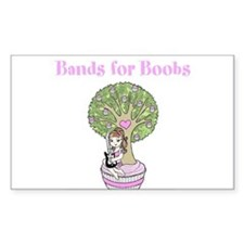 2012 Bands for Boobs Art Decal