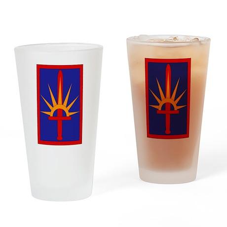 NY National Guard Drinking Glass