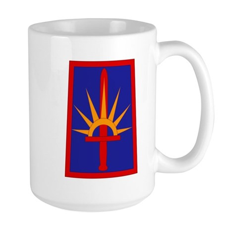 NY National Guard Large Mug
