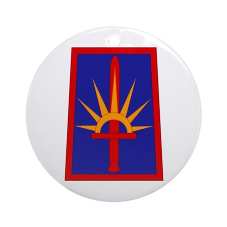 NY National Guard Ornament (Round)