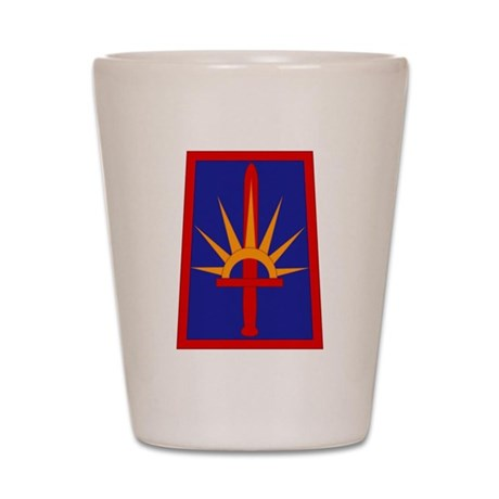 NY National Guard Shot Glass