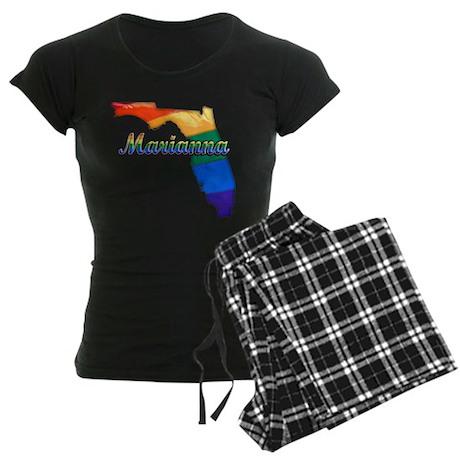 Marianna, Florida, Gay Pride, Women's Dark Pajamas