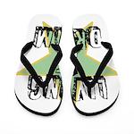 OYOOS Living My Dream design Flip Flops