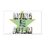 OYOOS Living My Dream design 22x14 Wall Peel