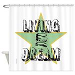 OYOOS Living My Dream design Shower Curtain