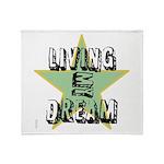 OYOOS Living My Dream design Throw Blanket