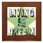 OYOOS Living My Dream design Framed Tile