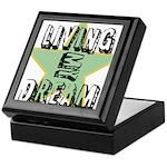 OYOOS Living My Dream design Keepsake Box