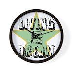 OYOOS Living My Dream design Wall Clock