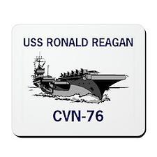 USS REAGAN Mousepad