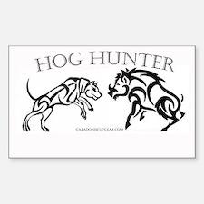 Hog Hunter Sticker (Rectangle)