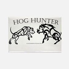 Rectangle Hog hunter magnet