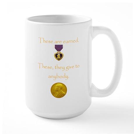 Purple Heart Large Mug
