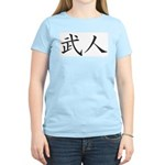 Kanji Warrior Women's Pink T-Shirt