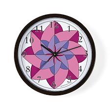 Rocky Mountain Star Wall Clock