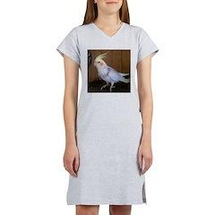 Cockatiel Women's Nightshirt