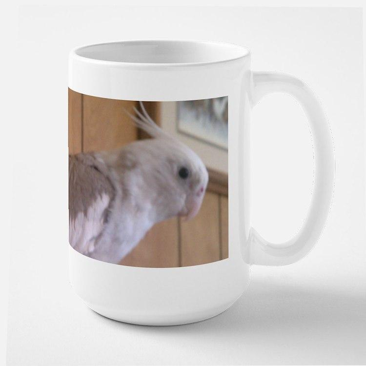 Cockatiel 2 Large Mug