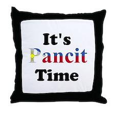 It's Pancit Time Throw Pillow
