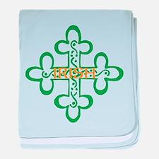 IRISH baby blanket