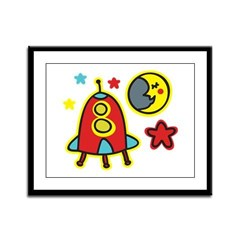 Outer Space Framed Panel Print