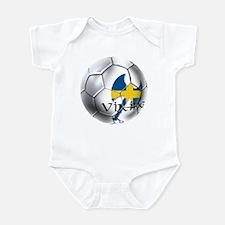 Swedish Soccer Ball Infant Bodysuit