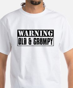 Warning Old And Grumpy Shirt