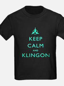 Keep Calm and Klingon T