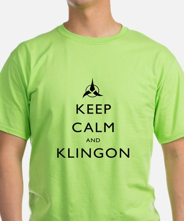 Keep Calm and Klingon T-Shirt