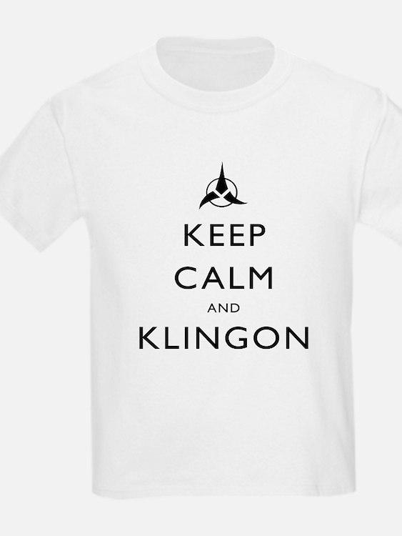 Keep Calm and Klingon T-Shirt