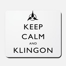 Keep Calm and Klingon Mousepad